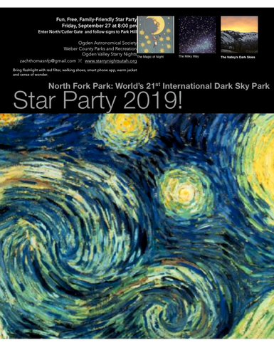 2019 Star Party Poster