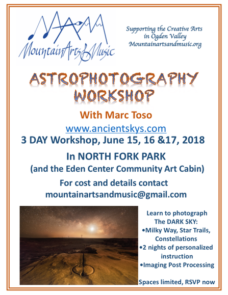 astrophotography flyer